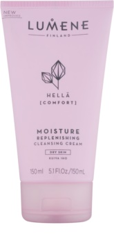 Lumene Cleansing Hellä [Comfort] хидратиращ почистващ крем за суха кожа